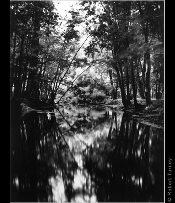 Looking Glass River #1 gelatin silver print by photographer Robert Turney