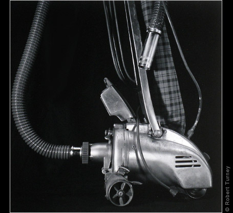 Photographer Robert Turney Gelatin Silver Print titled Vacuum Cleaner 5