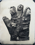 Gloves and mitten wet plate photos by photographer Robert Turney